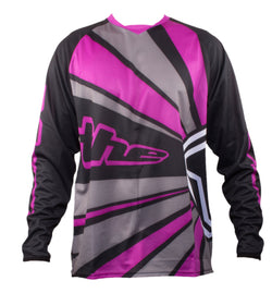 PURPLE LONG SLEEVE RAYS BMX | MOUNTAIN BIKE JERSEY