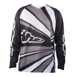 BLACK LONG SLEEVE RAYS BMX | MOUNTAIN BIKE JERSEY