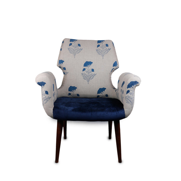 Butah Indigo Cotton Chair and Sofa