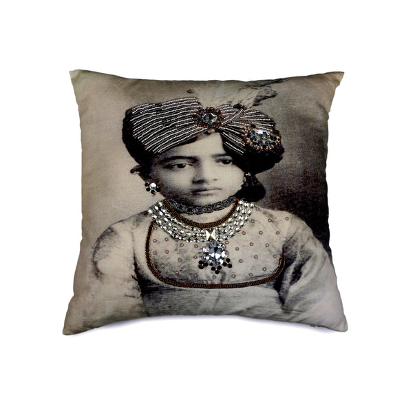 Ladlo Maharajah Cotton Decorative Cushion