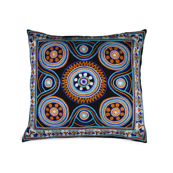 Lal Chowk Woollen Decorative Cushion