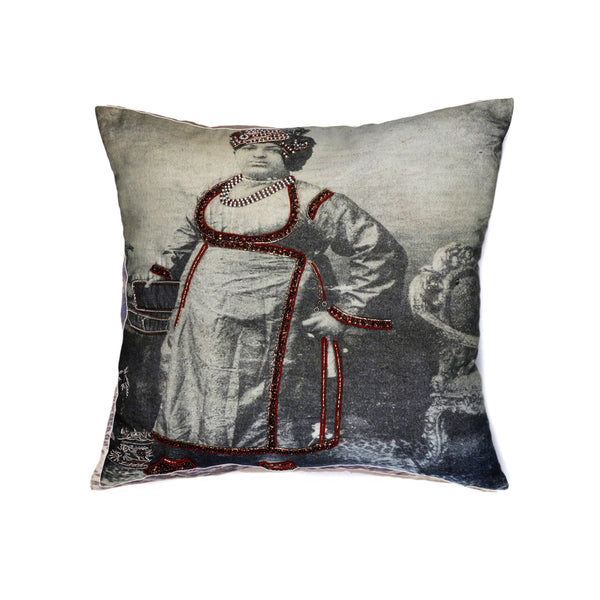 Neemach Maharajah Cotton Decorative Cushion