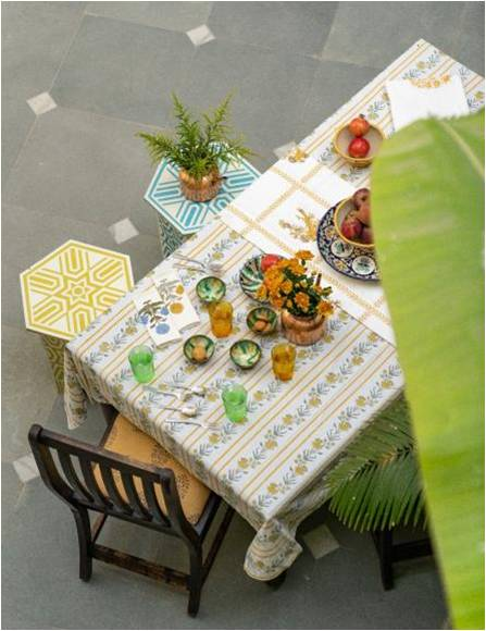Bel Cotton Table Cloths