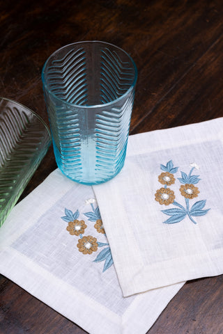 Daisy Cocktail Napkin Sets