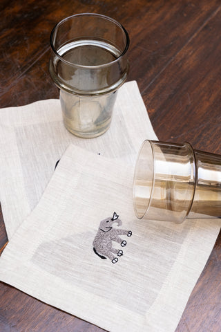 Elephant Cocktail Napkin Sets
