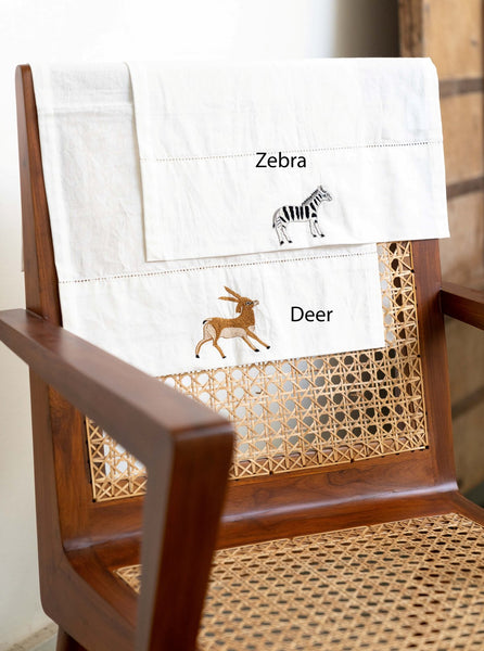 Safari Animal Guest Towels