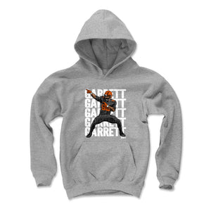 Myles Garrett Kids Youth Hoodie | 500 LEVEL