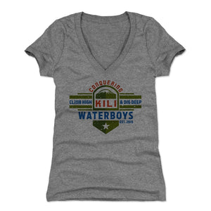 Waterboys Women's V-Neck T-Shirt | 500 LEVEL