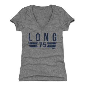 Kyle Long Women's V-Neck T-Shirt | 500 LEVEL