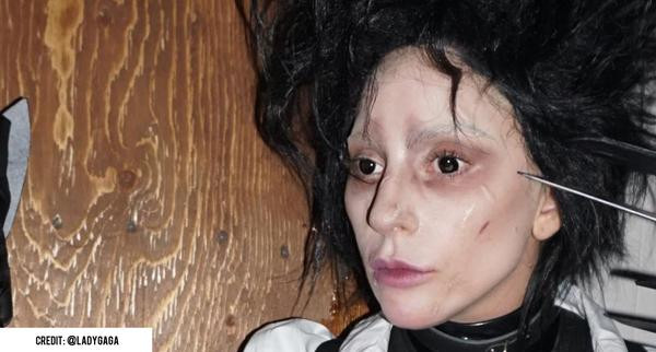 Lady Gaga was wearing PRIMAL Lenses for Halloween!