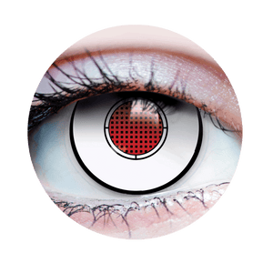 Terminator I - Halloween Costume Contact Lens - Close Up