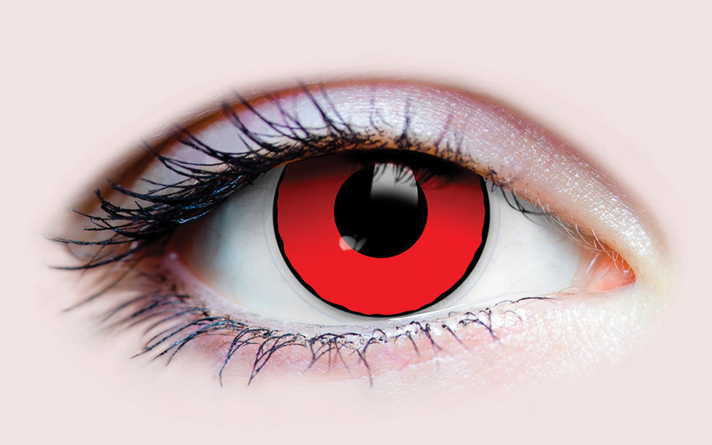 PRIMAL® Blood eye red Halloween Costume Contact Lenses