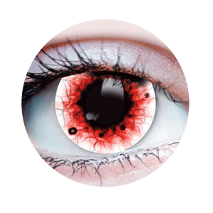 PRIMAL® wraith 2 Halloween Costume Contact Lenses - close up