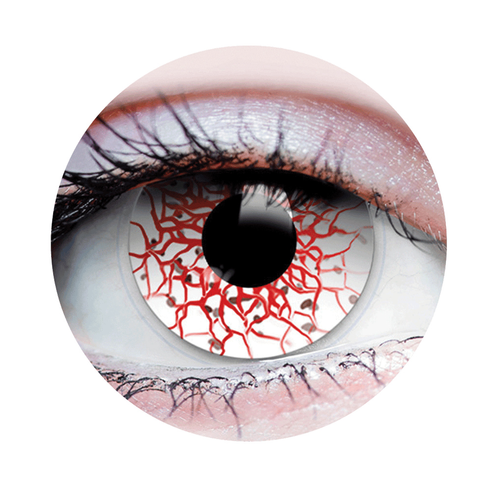 Berserker I - Halloween Costume Contact Lens - Close up