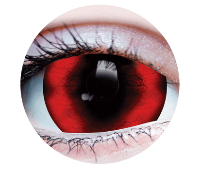 Reptilian - Halloween Costume Contact Lens - Close up