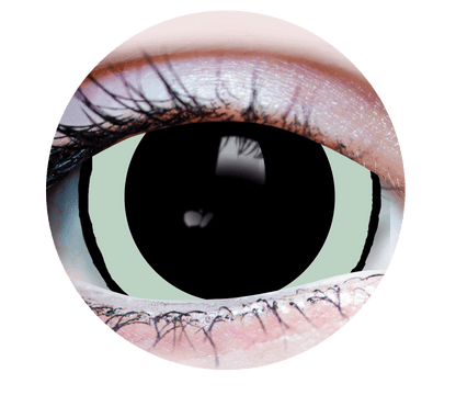 Mini Sclera-Green-Acid2-964- Halloween Costume Contact Lens-Close Up