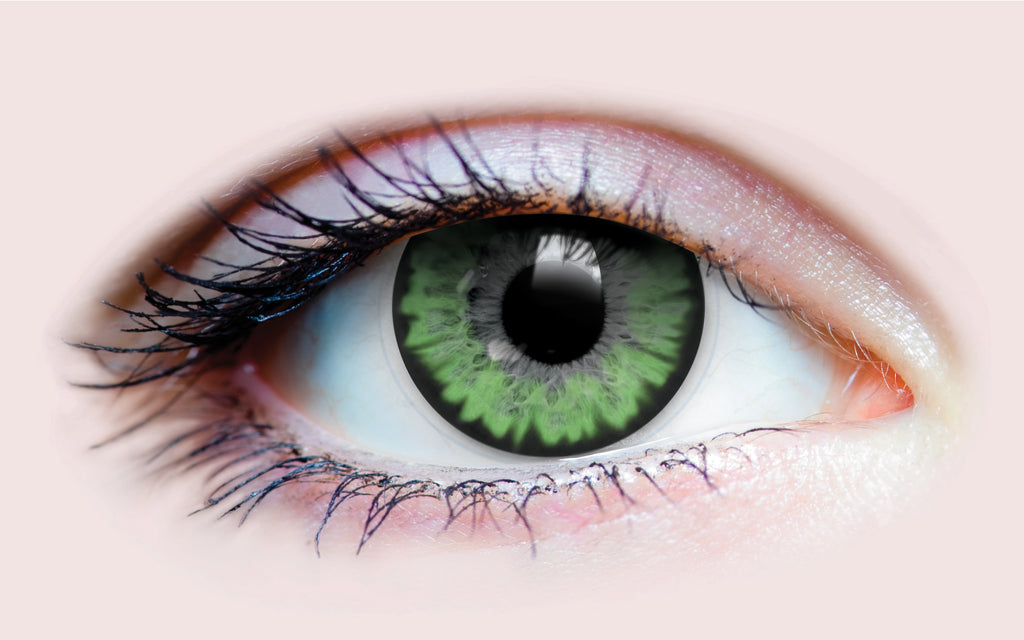 PRIMAL®  Celestial Jade (green)  Coloured Contact Lenses - small