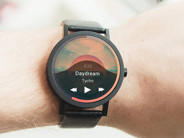 Android Watch Music UI Kit