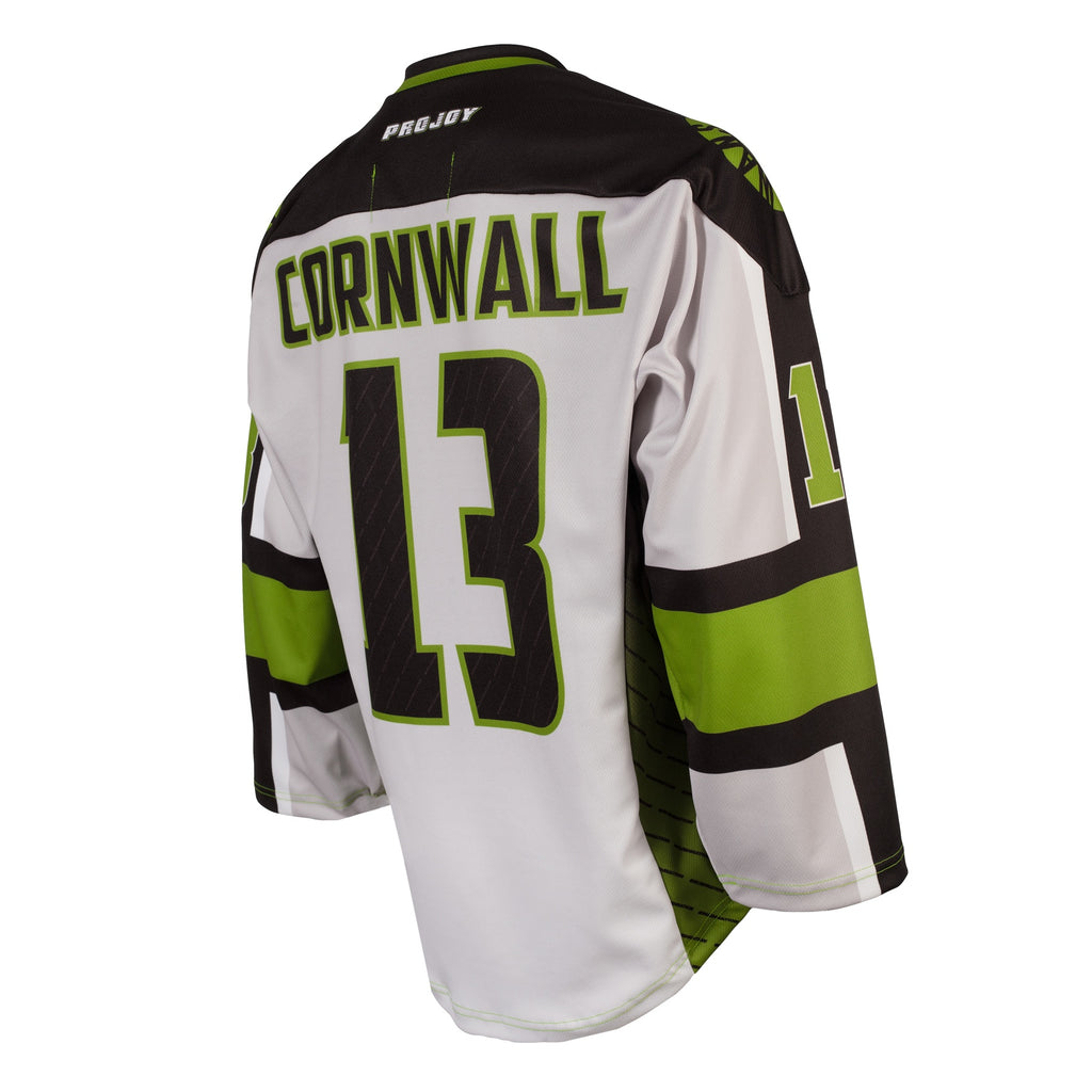 Replica Adult #13 Jeff Cornwall Jersey - 2018 - Grey