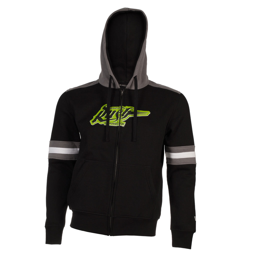 5th & O - Mens Banded FZ Hoody