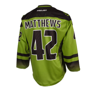 Replica Adult #42 Mark Matthews Jersey - 2018 - Lime