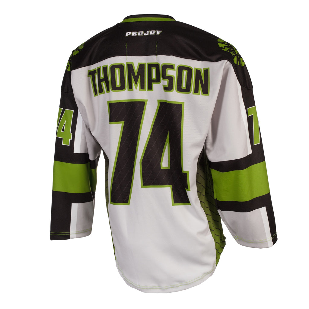 Replica Adult #74 Jeremy Thompson Jersey - 2018 - Grey