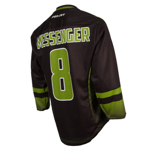 Replica Adult #8 Mike Messenger Jersey - 2018 - Black