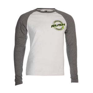 5th & O - Mens Raglan Badge LS T