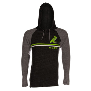 5th & O - Mens Tri-Blend Hooded Henley