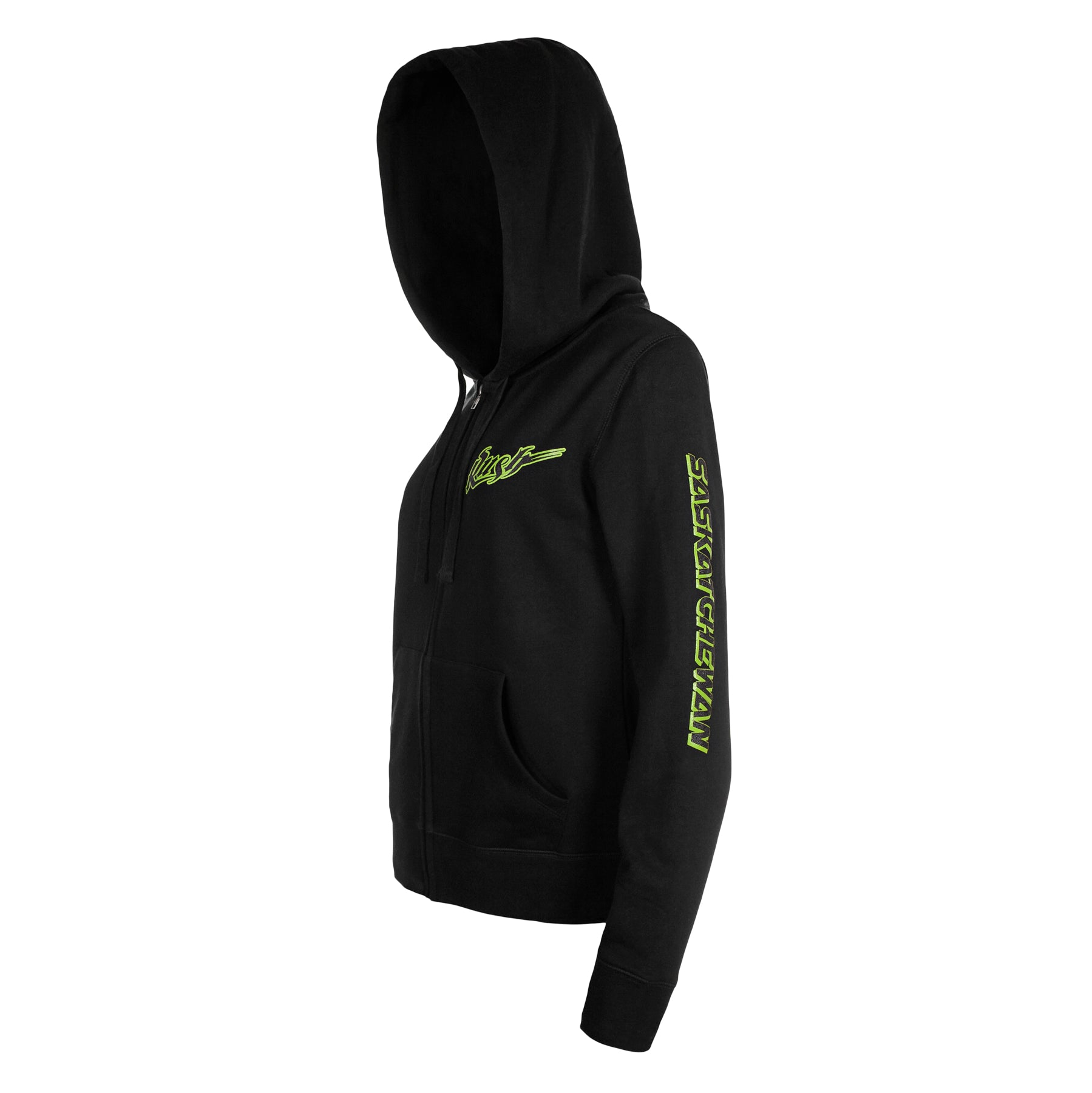 5th & O - Womens Sask Sleeve Full Zip Hoody