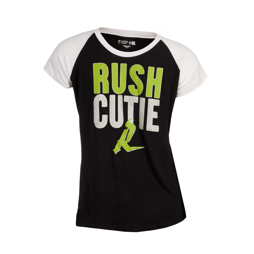 5th & O - Girls  Rush Cutie Raglan SS T
