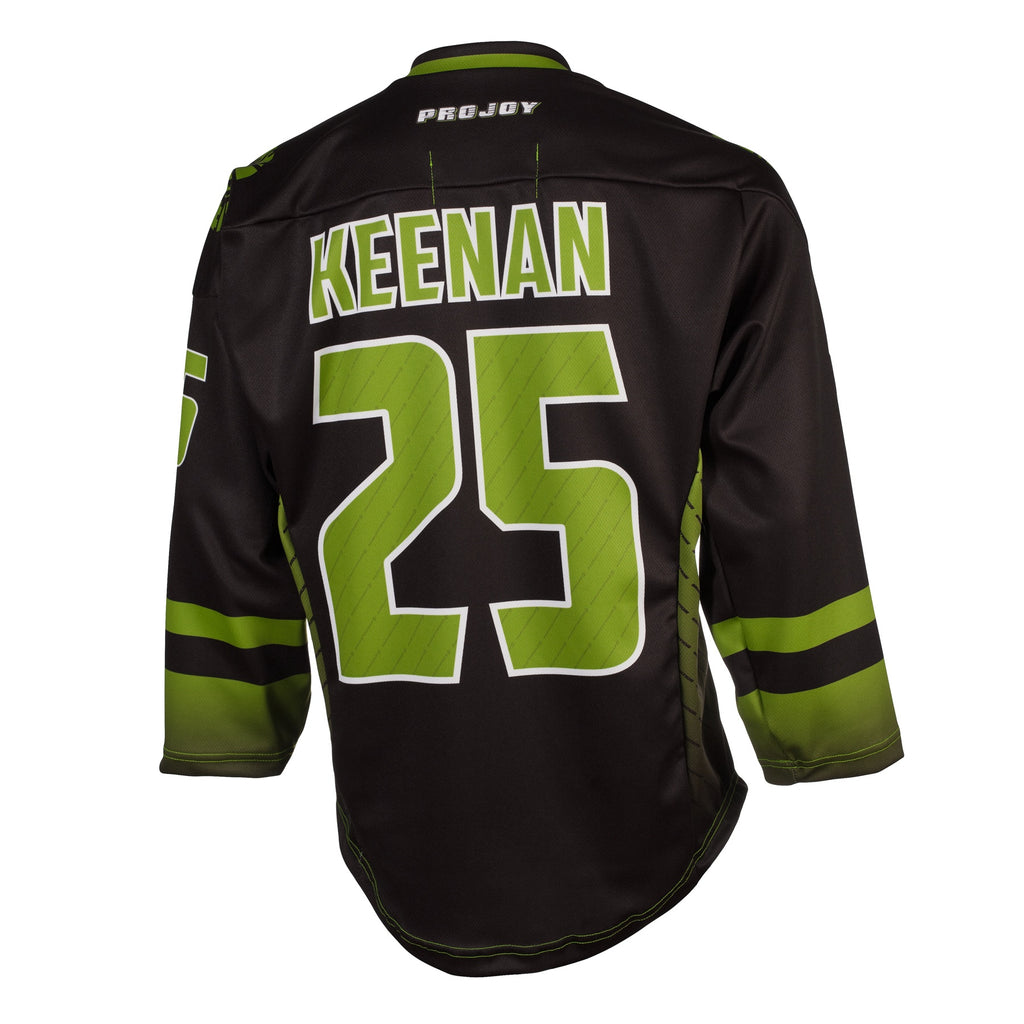 Replica Adult #25 Ryan Keenan Jersey - 2018 - Black