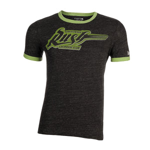 5th & O - Mens Tri-Blend Ringer SS T - BLK