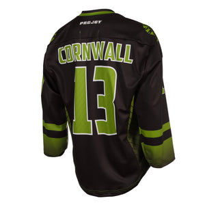 Replica Adult #13 Jeff Cornwall Jersey - 2018 - Black