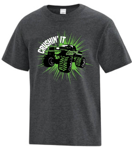 Crushin' It Monster Truck T-Shirt - Youth