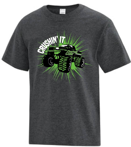 Kids - Crushin' It Monster Truck T