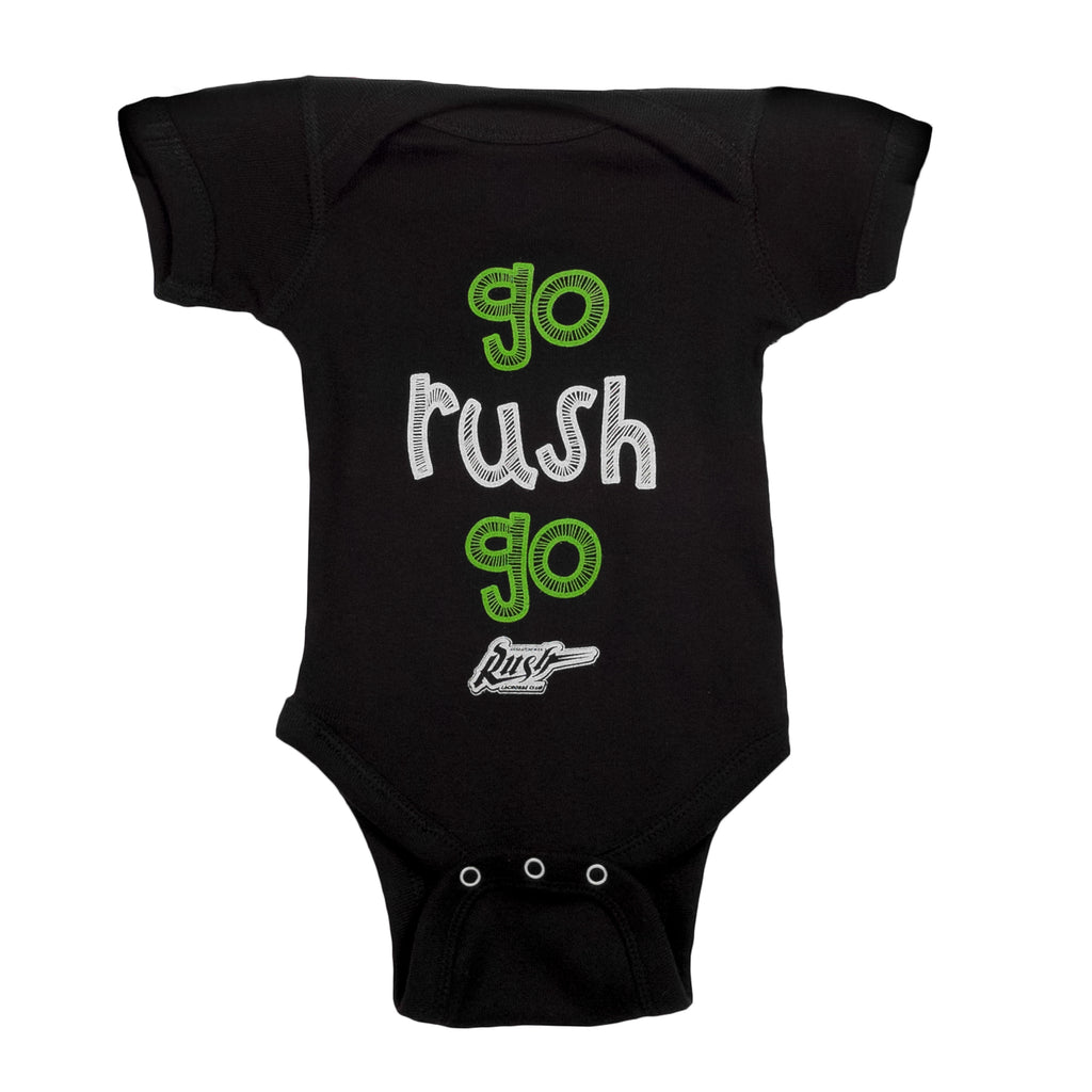 Go Rush Go Onesie - Black - Infant