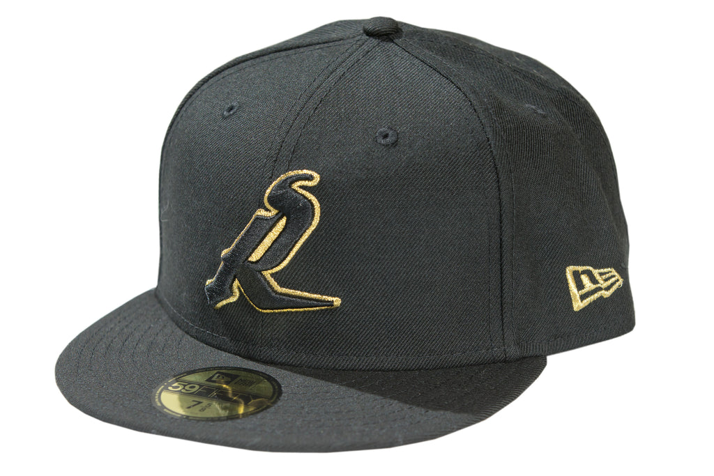 NE - SASRUS R Black Met Gold 59Fifty