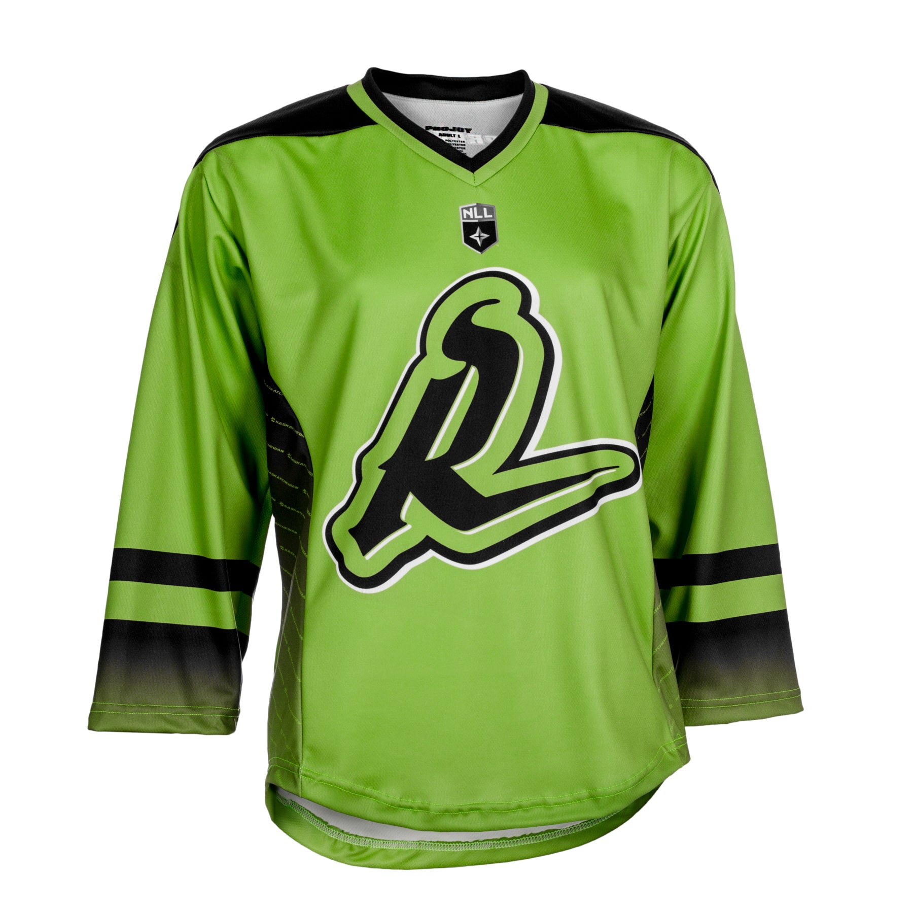 Replica Adult #8 Mike Messenger Jersey - 2018 - Lime