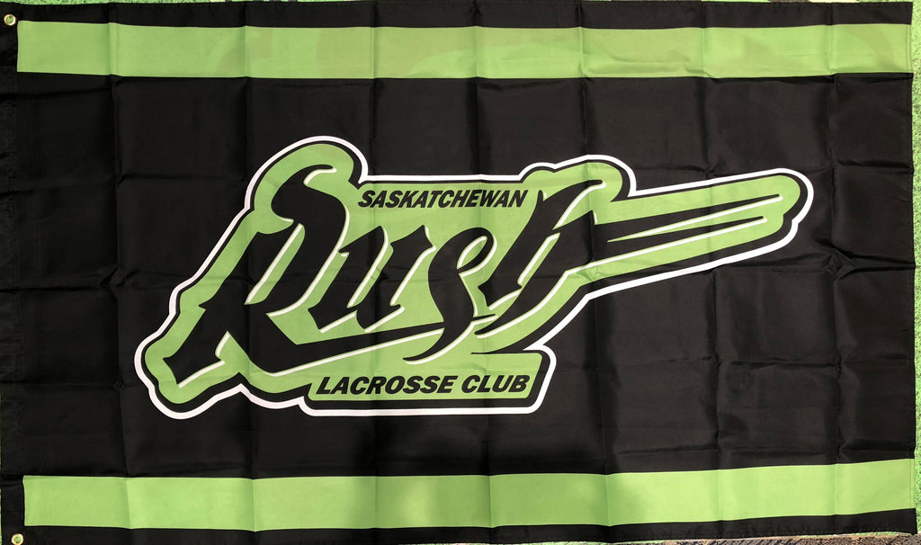 Saskatchewan Rush 3' x 5' One-Sided Flag