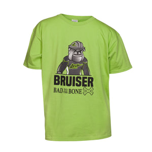 Bruiser 'Bad To The Bone' T - Youth - Lime