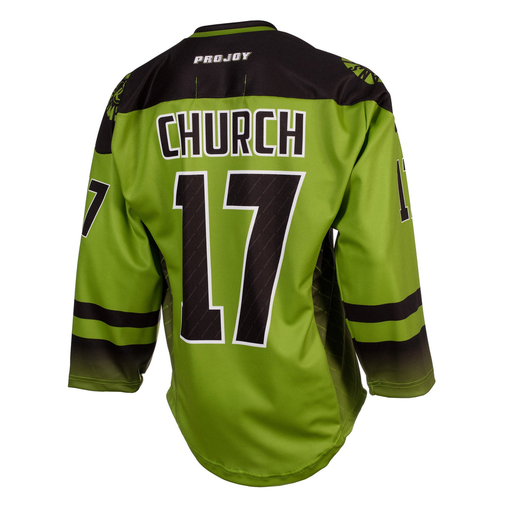Replica Adult #17 Robert Church Jersey - 2018 - Lime
