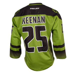 Replica Adult #25 Ryan Keenan Jersey - 2018 - Lime