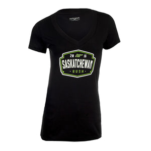 LW - Womens Crested Entice V-Neck T