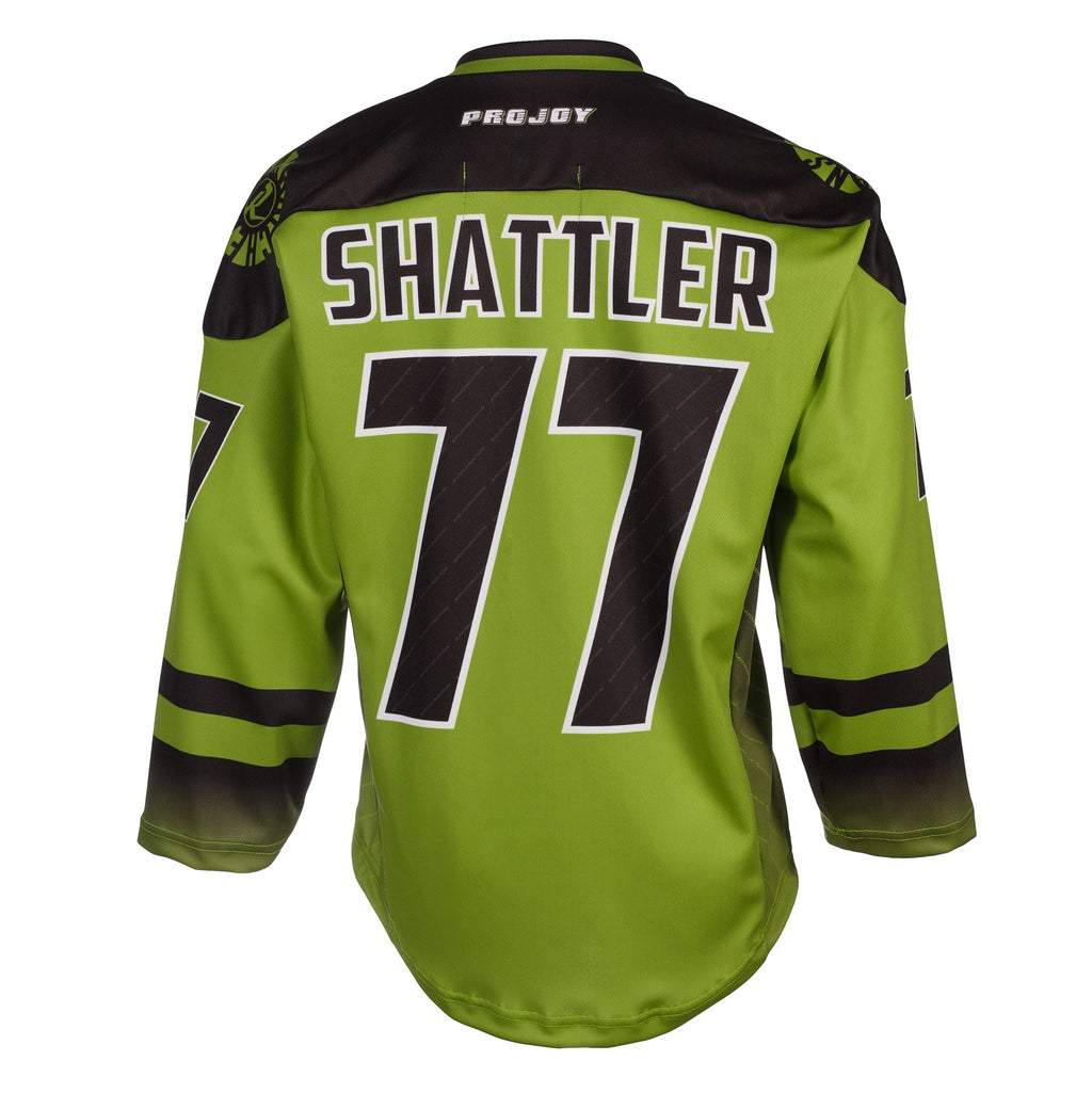 Replica Adult #77 Jeff Shattler Jersey - 2018 - Lime