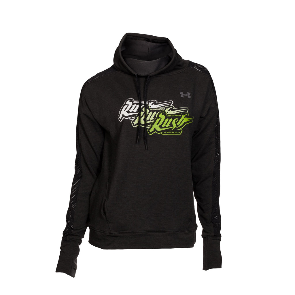 UA - Womens Triple Rush Funnel Pullover