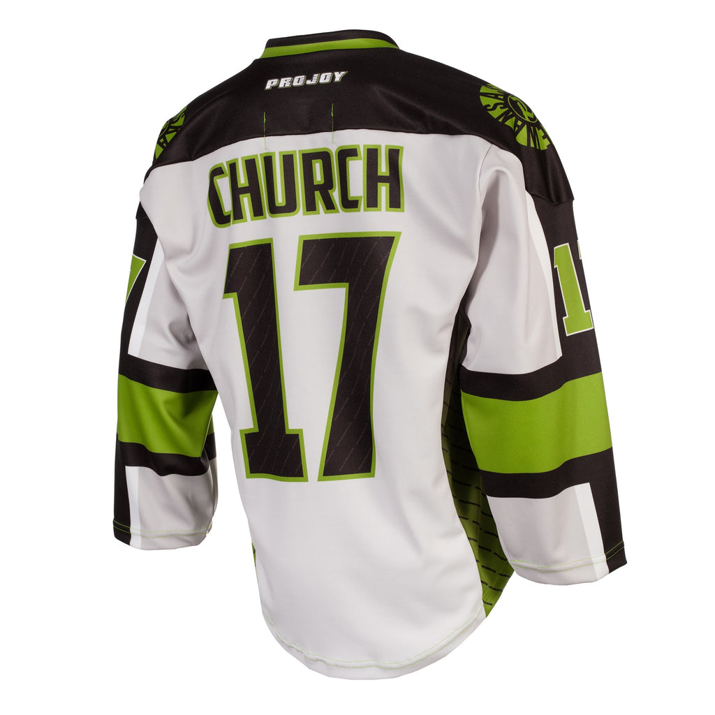 Replica Adult #17 Robert Church Jersey - 2018 - Grey