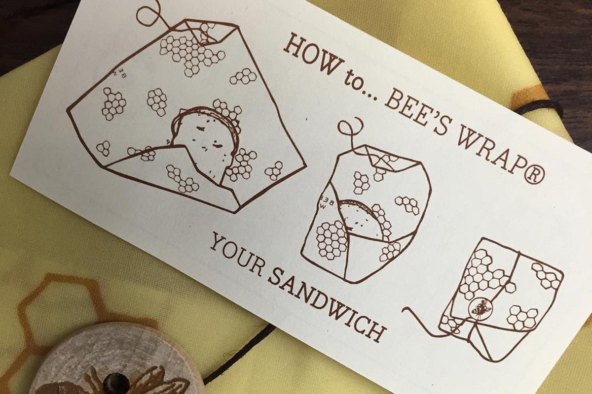 Bee's Wrap 101: How to Seal Your Sandwich