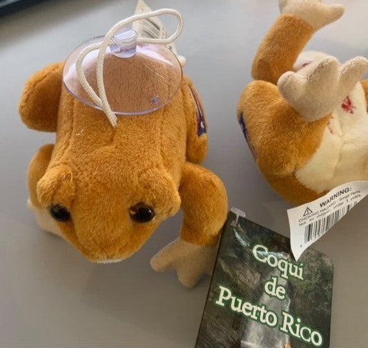Hanging Plush Coqui