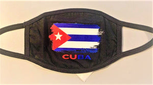 CUBA Flag Face Mask W/ Micro Filter